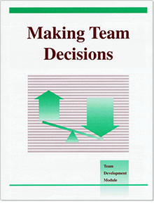 Module #11 - Making Team Decisions (10-pack)