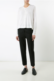 Dorothee Schumacher Loose Style Buttoned Cardigan