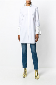 Dorothee Schumacher Long Fitted Shirt