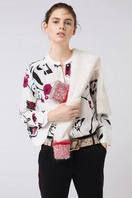 Dorothee Schumacher Floral Abstraction Blouse