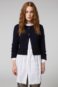 Dorothee Schumacher Favorite Destination Midnight Blue Cardigan