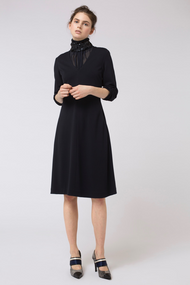 Dorothee Schumacher Effortless Chic Midnight Blue Dress