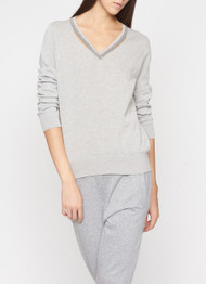 Fabiana Filippi Cotton V-Neck Pullover