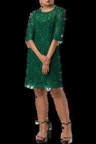 Carolina Herrera Floral Lace Dress