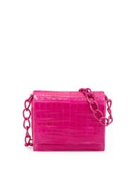Nancy Gonzalez Crocodile Chain Crossbody Bag