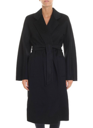 Max Mara Laerte Black Coat