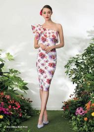 Chiara Boni La Petite Robe Elisse Multi-Print Dress