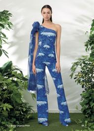 Chiara Boni La Petite Robe Aselin Print Jumpsuit