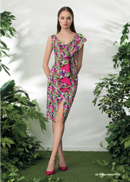 Chiara Boni La Petite Robe Boudicea Print Dress
