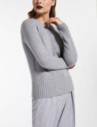 Max Mara Ceylon Light Grey Sweater