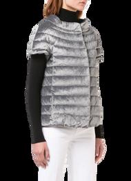 Herno Cap Sleeve Velvet Jacket