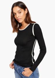 JED Skinnyminirib Crewneck Sweater