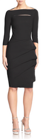 Chiara Boni La Petite Robe Nero Kate Dress