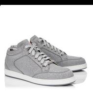 Jimmy Choo Miami Fine Silver Glittered Sneaker