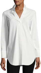 Chiara Boni La Petite Robe Bianco Atena Collared Shirt