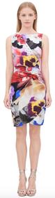 Roberto Cavalli Araki Print Dress
