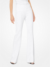 Michael Kors Crepe Sablé Flared Trousers
