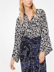 Michael Kors Floral Kimono Blouse
