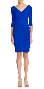 Chiara Boni La Petite Robe Blu Klein Florien Dress