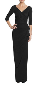 Chiara Boni La Petite Robe Nero Florien Long Dress