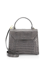 Nancy Gonzalez Crocodile Lady Bag