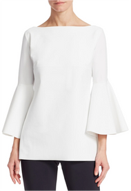 Chiara Boni La Petite Robe Bianco Natty Top