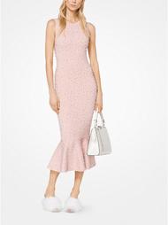 Michael Kors Pearl Crystal Sheath Dress