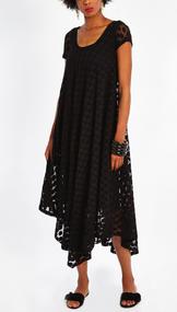 Fuzzi Polka-Dot Loose Dress