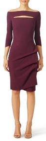 Chiara Boni La Petite Robe Mahogany Kate Dress