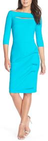Chiara Boni La Petite Robe Turchese Kate Dress