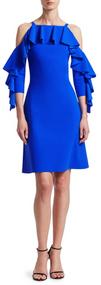 Chiara Boni La Petite Robe Blu Klein Marcellina Dress