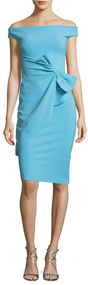 Chiara Boni La Petite Robe Aquamarine Rashmi Dress