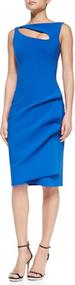 Chiara Boni La Petite Robe Blu Klein Angie Dress