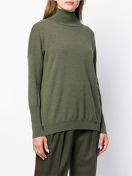 Agnona Cashmere Roll Neck Sweater