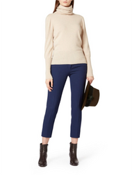 Agnona Turtleneck Knit Cashmere Sweater