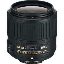 Nikon AF-S NIKKOR 35mm f/1.8G ED FX Format Lens