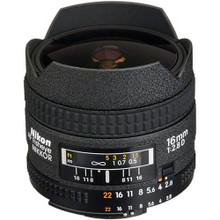Nikon 16mm f/2.8D Af Fisheye-Nikkor Lens