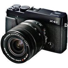 Fujifilm X-E2 Mirrorless Digital Camera with 18-55mm Lens