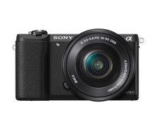 Sony Alpha a5100 Mirrorless Digital Camera with 16-50mm Lens