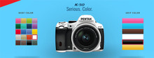 Pentax K-50 Digital SLR Camera with 18-55mm f/3.5-5.6 Lens