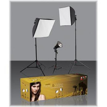 Westcott Photo Basics Ulite Three Light Kit
