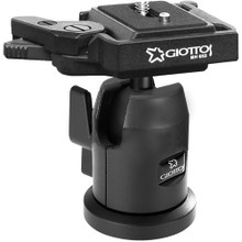 Giotto's Mh7001 Pro Ball Head With Built-In Mh652 Quick Release Plate
