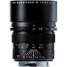 Leica Telephoto 90mm f/2.0 APO Summicron M Aspherical Manual Focus Lens