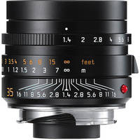 LEICA 11663 - Summilux 35mm f1.4 M-Aspherical Lens (Black)