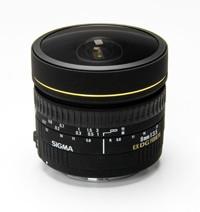 Sigma 8mm F3.5 EX DG Circular Fish-Eye