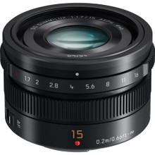 Panasonic LUMIX G Leica DG Summilux 15mm f/1.7 ASPH. Lens