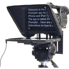Datavideo TP-300B Prompter Kit for iPad and Android Tablets