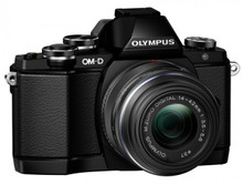 Olympus E-M10 Body with M.Zuiko 14-42mm II R Lens & M.Zuiko 40-150mm f4.0-5.6 R