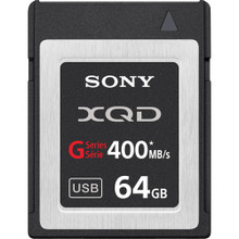 Sony 64GB G Series XQD Format Version 2 Memory Card, New York, California, Maryland, Connecticut