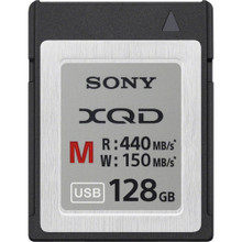 Sony 128GB M Series XQD Memory Card, New York, California, Maryland, Connecticut